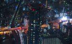 雨や雪の日に夜景を撮ると幻想的なのか?「あべのハルカス」展望台からの夜景-雨の日編